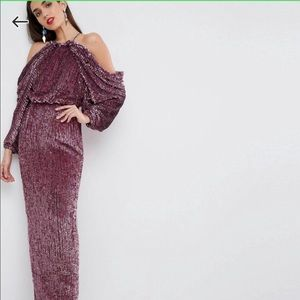 ASOS Red Carpet Sequin Gown STUNNING